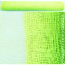 Malla de plástico simple verde claro