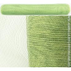 Verde oscuro simple con malla de plástico verde claro