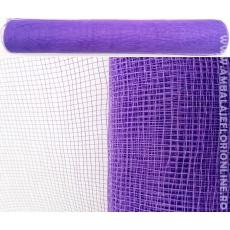 Malla de plástico púrpura simple cerrada