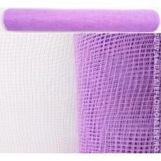Malla de plástico púrpura claro simple
