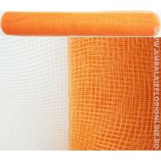 Malla Plástica Simple Naranja