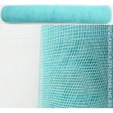 Malla de plástico simple azul