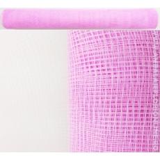Malla de plástico rosa simple