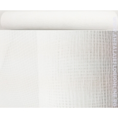 Malla Plástica Simple Blanca