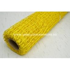 Malla de yute amarillo claro