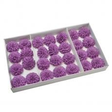 Juego de 28 piezas de buen jabón perfumado dalia con un toque real de lila
