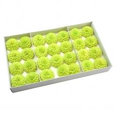 Juego de 28 piezas de delicioso jabón fragante con un toque real de verde