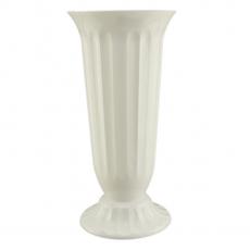 Florero de suelo 22x45 cm blanco