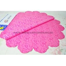 Celofán Redondo 60CM Flores Rosas