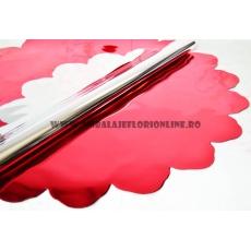 Redondo Metálico 60CM Rojo