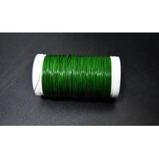 Alambre de bobina decorativo verde