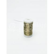Alambre de bobina decorativo dorado