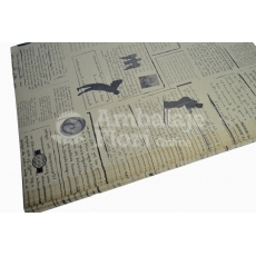 Papel Kraft Periódico S Negro