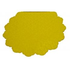 Celofán Redondo 50CM Flores Amarillas