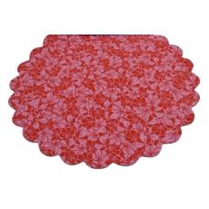 Celofán Modelo FLW Rojo con Rosa