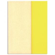 Papel crepé Gloria Doublette blanco-blanco amarillo, código 3303