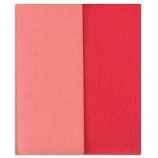 Papel crepé Gloria Doublette rosa claro-rosa, código 3309