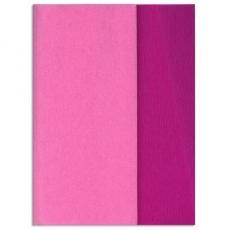 Gloria Doublette papel crepé siclam-siclam abierto, código 3318