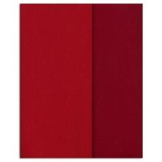 Papel crepé Gloria Doublette rojo carmín, código 3331