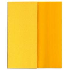 Papel crepé Gloria Doublette amarillo claro-amarillo, código 3404