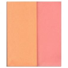 Papel crepé Gloria Doublette salmón - rosa claro, código 3409