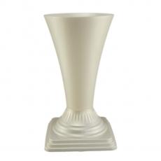 Florero suelo 19x36 cm blanco perla