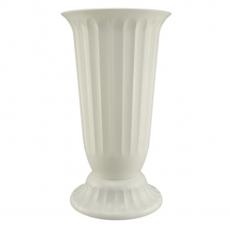 Florero de suelo 27x50 cm blanco