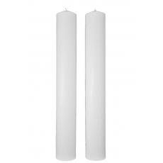 Velas de boda cilíndricas cortas 40CM / 5.5CM