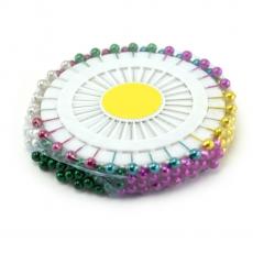 Agujas de perlas de 6 mm 90 piezas de colores mezclados