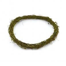 Corona natural verde 30cm