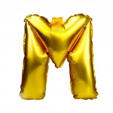Globo Hinchable Dorado 55 cm Letra M