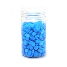 Granulación de grava ornamental 8-12 mm azul