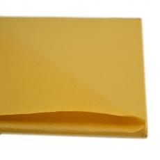 Papel encerado amarillo mostaza 20 hojas