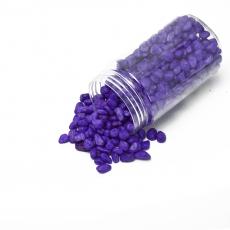 Granulación de grava ornamental 6-9 mm violeta