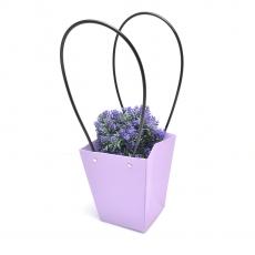 Lote de 12 piezas Sacosa premium lila